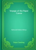 도서 이미지 - Voyage of the Paper Canoe (Nathaniel Holmes Bishop 저)