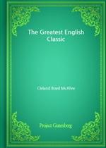 도서 이미지 - The Greatest English Classic