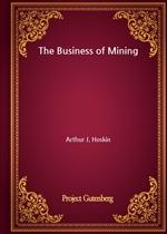 도서 이미지 - The Business of Mining