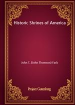 도서 이미지 - Historic Shrines of America