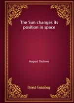 도서 이미지 - The Sun changes its position in space