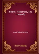 도서 이미지 - Health, Happiness, and Longevity