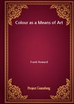 도서 이미지 - Colour as a Means of Art