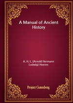 도서 이미지 - A Manual of Ancient History