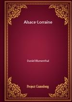 도서 이미지 - Alsace-Lorraine