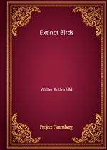 도서 이미지 - Extinct Birds
