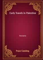 도서 이미지 - Early Travels in Palestine
