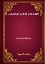 도서 이미지 - Evolution of Life and Form