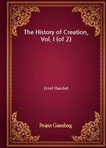 도서 이미지 - The History of Creation, Vol. I (of 2)