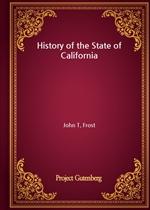 도서 이미지 - History of the State of California