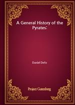 도서 이미지 - A General History of the Pyrates:
