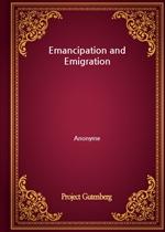 도서 이미지 - Emancipation and Emigration