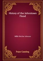 도서 이미지 - History of the Johnstown Flood