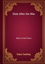 도서 이미지 - Dixie After the War