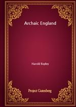 도서 이미지 - Archaic England