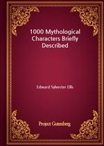 도서 이미지 - 1000 Mythological Characters Briefly Described