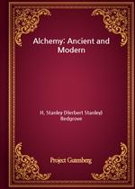 도서 이미지 - Alchemy: Ancient and Modern