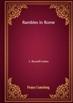 도서 이미지 - Rambles in Rome