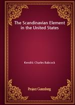 도서 이미지 - The Scandinavian Element in the United States