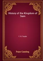 도서 이미지 - History of the Kingdom of Siam