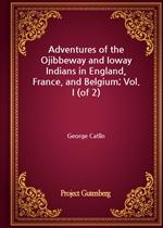 도서 이미지 - Adventures of the Ojibbeway and Ioway Indians in England, France, and Belgium; Vol. I (of 2)