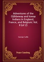 도서 이미지 - Adventures of the Ojibbeway and Ioway Indians in England, France, and Belgium; Vol. II (of 2)