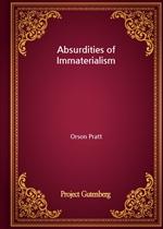 도서 이미지 - Absurdities of Immaterialism