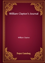 도서 이미지 - William Clayton's Journal