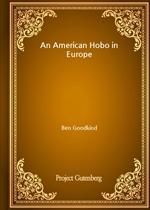 도서 이미지 - An American Hobo in Europe