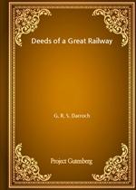 도서 이미지 - Deeds of a Great Railway