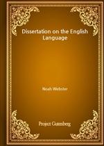 도서 이미지 - Dissertation on the English Language