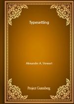 도서 이미지 - Typesetting
