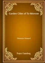 도서 이미지 - Garden Cities of To-Morrow