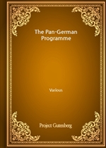 도서 이미지 - The Pan-German Programme