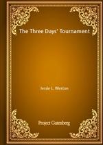 도서 이미지 - The Three Days' Tournament