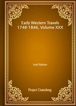 도서 이미지 - Early Western Travels 1748-1846, Volume XXX