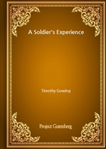 도서 이미지 - A Soldier's Experience