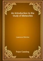 도서 이미지 - An Introduction to the Study of Meteorites