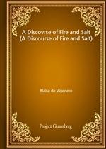 도서 이미지 - A Discovrse of Fire and Salt (A Discourse of Fire and Salt)