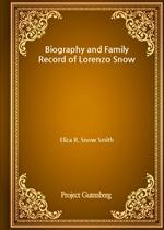 도서 이미지 - Biography and Family Record of Lorenzo Snow