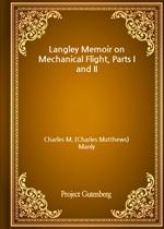 도서 이미지 - Langley Memoir on Mechanical Flight, Parts I and II