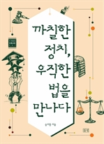 도서 이미지 - 까칠한 정치, 우직한 법을 만나다