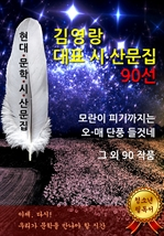 도서 이미지 - 김영랑 대표 시.산문 작품집 90선