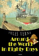 도서 이미지 - 80일간의 세계 일주 Around the World in Eighty Days (영어 원서 읽기)