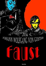 도서 이미지 - 파우스트 Faust (영어 원서 읽기: 희곡 일러스트 삽입)