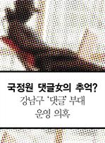 도서 이미지 - 국정원 댓글女의 추억? 강남구 '댓글' 부대 운영 의혹