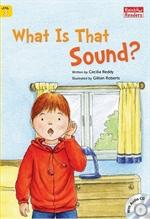 도서 이미지 - [오디오북] What Is That Sound?