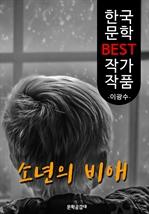 도서 이미지 - 소년의 비애 ; 이광수 (한국 문학 BEST 작가 작품)