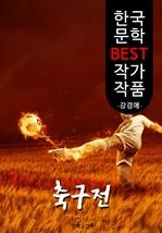 도서 이미지 - 축구전(蹴球戰); 강경애 (한국 문학 BEST 작가 작품)
