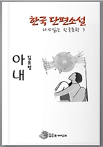 도서 이미지 - 한국 단편소설 다시 읽는 한국문학 안해(아내)